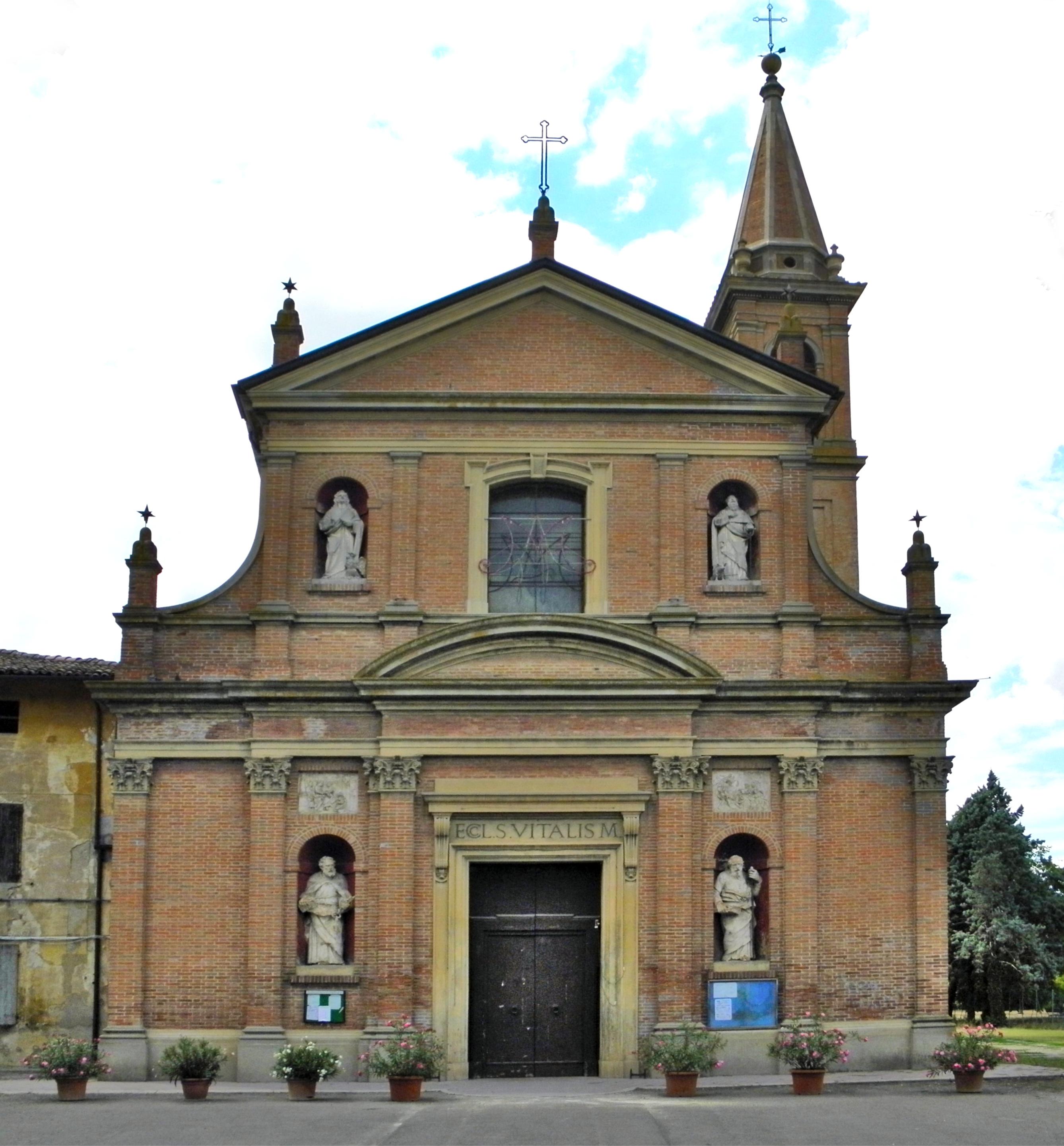 Comune Di Granarolo Dell Emilia chiesa di san vitale martire in granarolo | zona pastorale